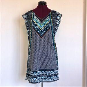 Shades of Blue - Shift Dress